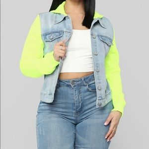 Fashion nova neon sweat suit